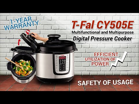 T-Fal CY505E Multifunctional And Multipurpose Digital Pressure Cooker