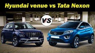 compact SUV: Hyundai venue vs Tata Nexon