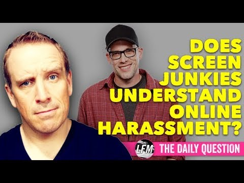 Does Screen Junkies understand online harassment?