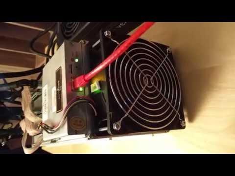 Bitmain AntMiner S9 Batch 3 - Powering Up
