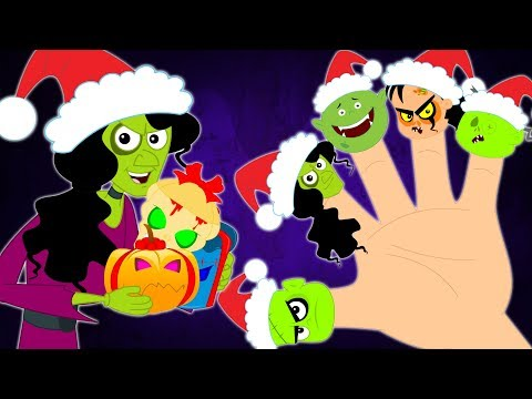 Christmas Finger Family   Christmas Song   Xmas Song   Nursery Rhymes & Kids Songs Baby