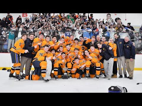 Springfield HS Hockey, 2019-20 Central League Ice Hockey Championship