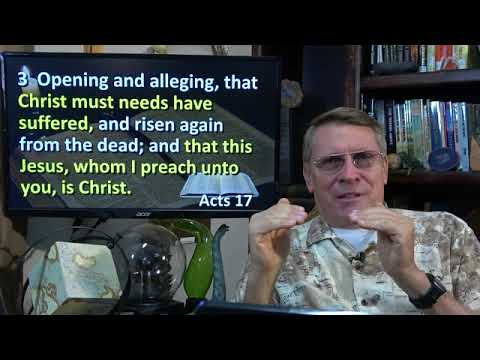 Dr. Kent Hovind 12-10-17 Acts 17, Paul still spreading the Word. How to reach heathen.