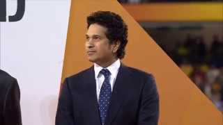 Sachin at World Cup 2015 Final - Crowd goes Mad - Srinivasan Booed