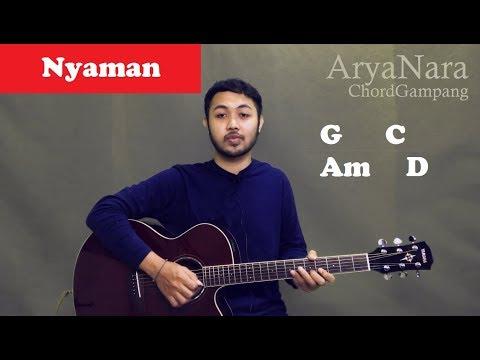 Chord Gampang (Nyaman - ANDMESH) By Arya Nara (Tutorial Gitar) Untuk Pemula