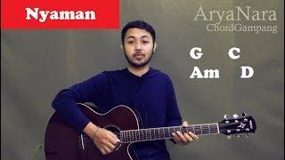 Gambar cover Chord Gampang (Nyaman - ANDMESH) by Arya Nara (Tutorial Gitar) Untuk Pemula