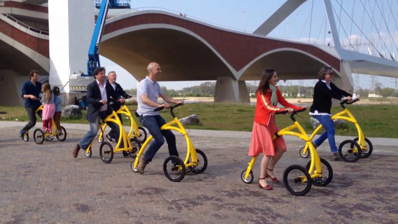 A Flock Of Brand New Alinker R Volution Walking Bikes And Their