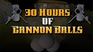 Smithing Cannonballs - For 30 Hours