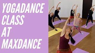 Йога-танец в #Maxdance Yoga dance