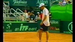 COPA DAVIS 2003 Calleri derrota a Ferrero. Ultimo set 21/9