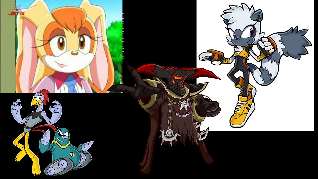 They Might Be Old Sonic Characters But Don't Forget About Them!
