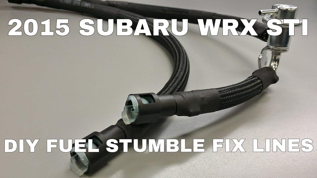 2015 Subaru WRX STI - DIY 08+ STI Fuel Stumble Fix Kit - OCTurboJoe