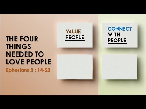 The Four Things Needed To Love People: Connect With People - Terence Chatmon