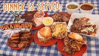 Buckingham BBQ Challenge w/ Ribs, Wings, Smoked Meats, & Sandwiches!!