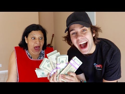 SURPRISING OUR MAID WITH $10,000!!