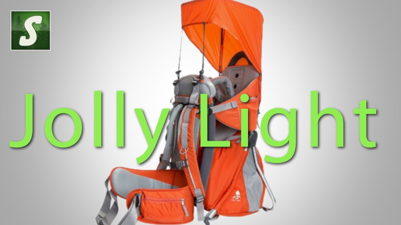 Vaude Jolly Light Child Carrier - YouTube 634c70f02f91e