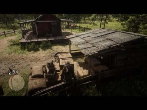 Red Dead Redemption 2: Clearing out Thieves landing
