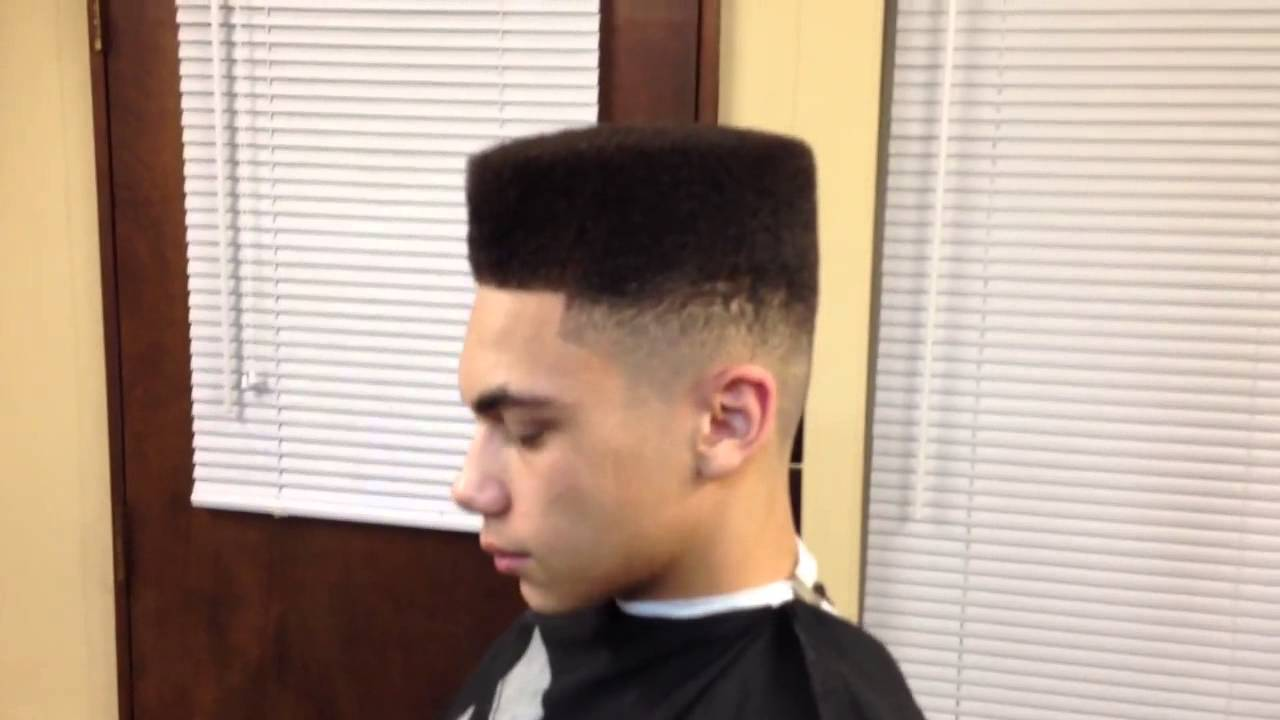Simple High Top Flat Too Box Fade Youtube