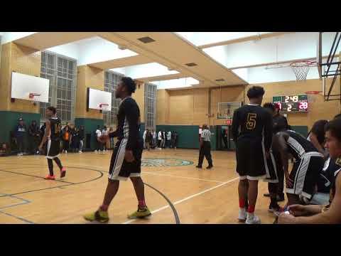 Norman Thomas vs. Washington Irving- 2nd Quarter