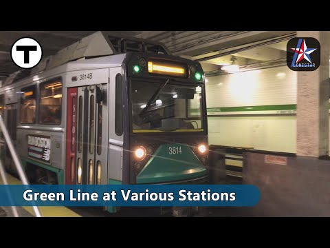MBTA | Green Line Trains | Boston