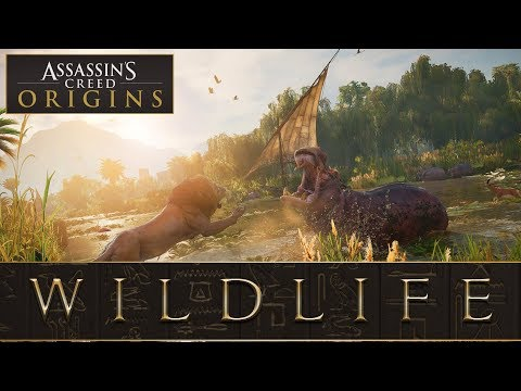 Assassins Creed™: Origins - Wildlife (Confirmed Animals)