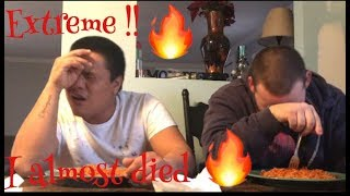 The spicy noodle challenge