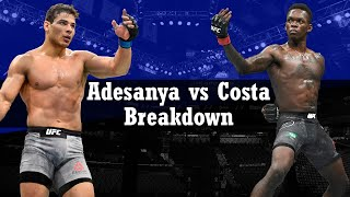 UFC 253 - Israel Adesanya vs Paulo Costa Breakdown