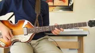 The Beatles - Day Tripper - Bass Cover Hofner