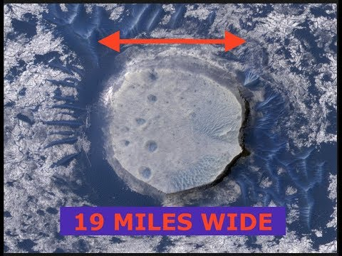 Comet ENKI, Huge 19 Mile Wide Crater Discovered in Greenland