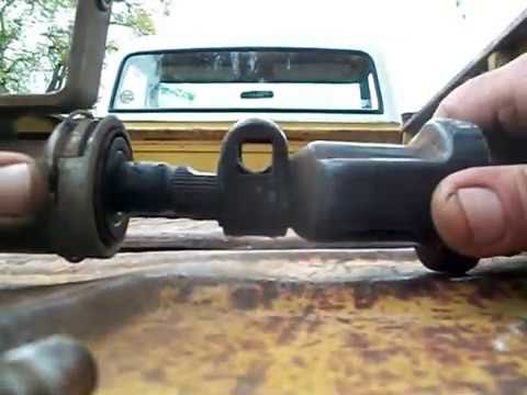 Remove Install Steering Column 67 72 Chevy C10 Truck Youtube