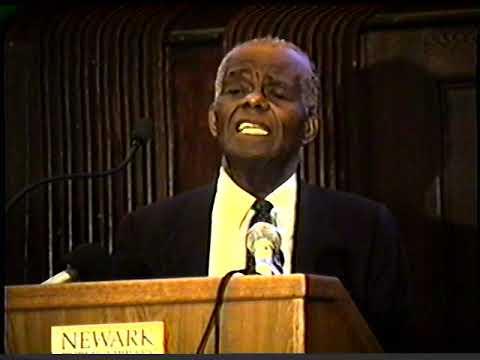 Dr. John Henrik Clarke: Marcus Garvey Lecture - Newark Public Library | 9 August 1990