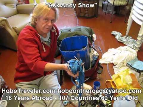 Crazy Traveler Packing Andy Lee Graham 2016