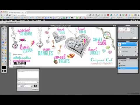 Edit Graphic File Using Pixlr.com