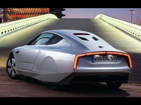 VOLKSWAGEN XL1 2014 - 1-Litre concept car with the drag coefficient (Cd) is 0.159
