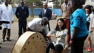 UNDP Goodwill Ambassador, Ms. Misako Konno's mission to Kenya from ...