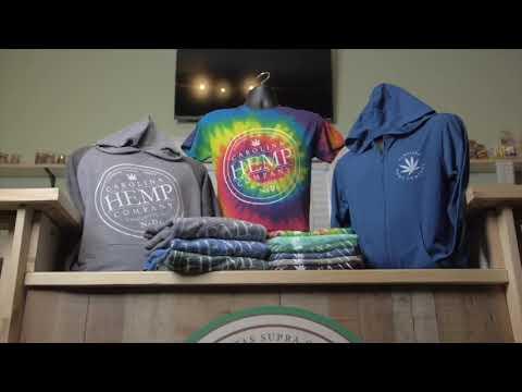 Carolina Hemp Company offers a complete line of apparel