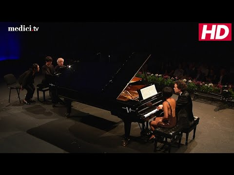 Verbier Festival 25th Anniversary Gala - Smetana: Sonata for two pianos 8 hands