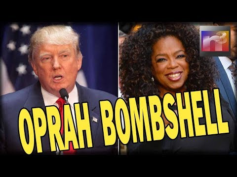 Trump Drops Oprah BOMBSHELL that Will Send her Right Back Into Hillary and Obama's Arms