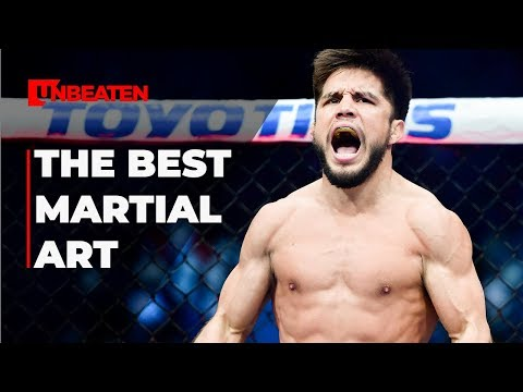 Why Wrestling is the best MMA discipline