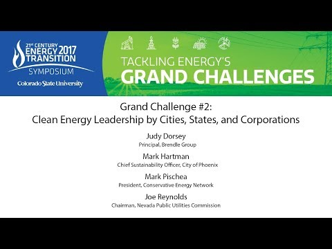 Grand Challenge #2 Clean Energy Leadership by Cities, States, and Corporations