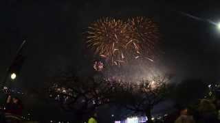 Edinburgh Hogmanay (New Year) Street Party 2013 - 2014
