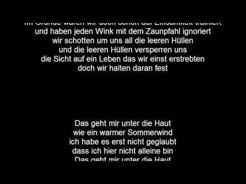 Tim Bendzko Lyrics