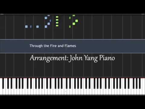 Through the Fire and Flames Dragon Force (John Yang Piano)