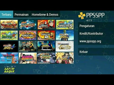 All Game & Mod Naruto Shippuden PSP | Size Kecil Download With Link