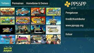 All Game & Mod Naruto Shippuden PSP Android PC | Size Kecil Download With Link
