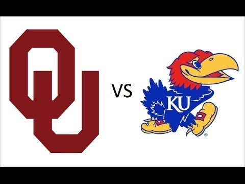 #4 Oklahoma at Kansas Preview rock chalk
