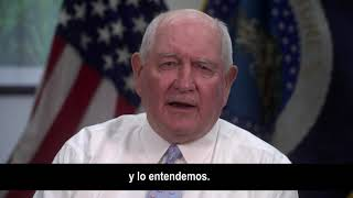 USDA Secretary Sonny Perdue Message to Producers