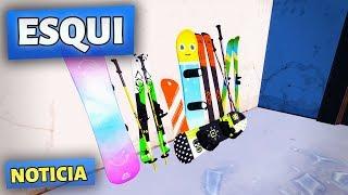 Snowboard - Esqui Y Snowboard Pronto - Fortnite Temporada 7