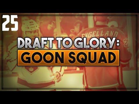 "NHL 18 - Draft To Glory: Goon Squad Franchise Mode #25 ""Bouncing Back?"""