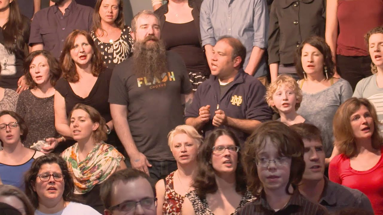 """Flash Chorus sings """"Hero"""" by Family of the Year - YouTube"""